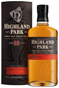 Highland Park Scotch Single Malt 18 Year 750ml